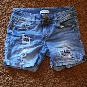 Mudd girls Jean shorts